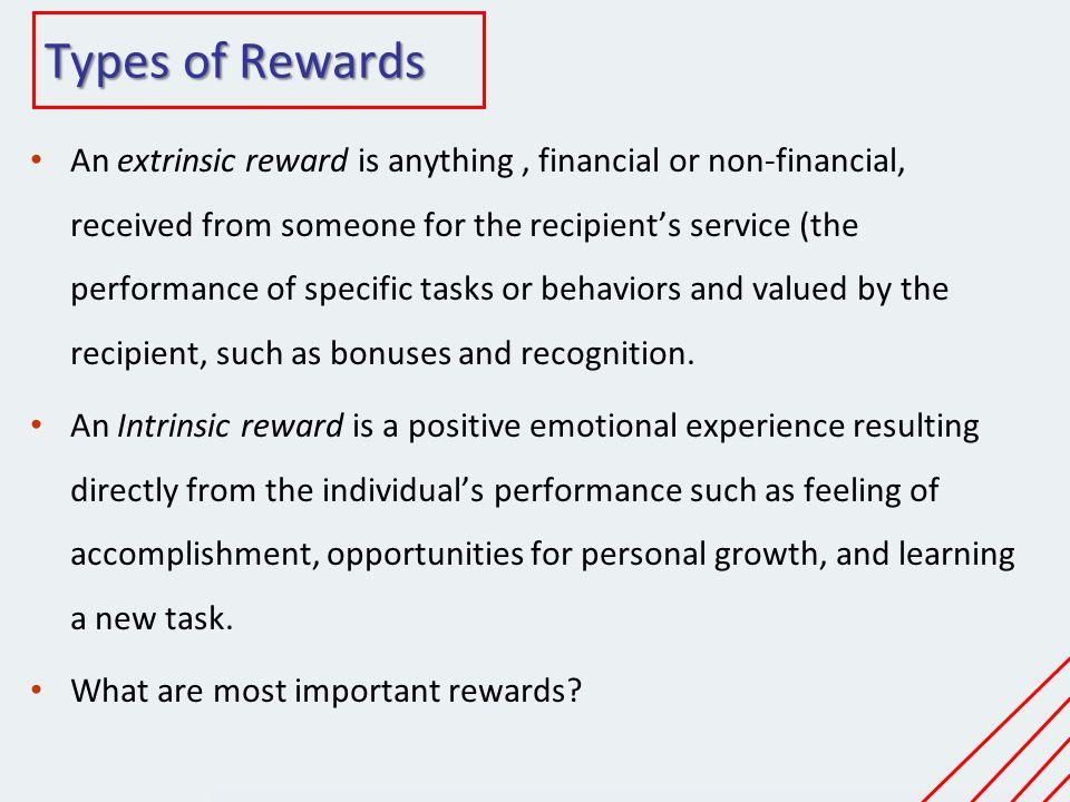 Types of Rewards
