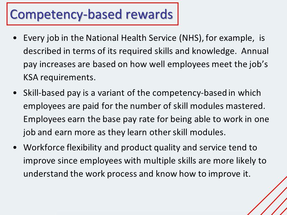 Competency-based rewards