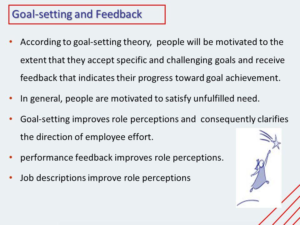 Goal-setting and Feedback
