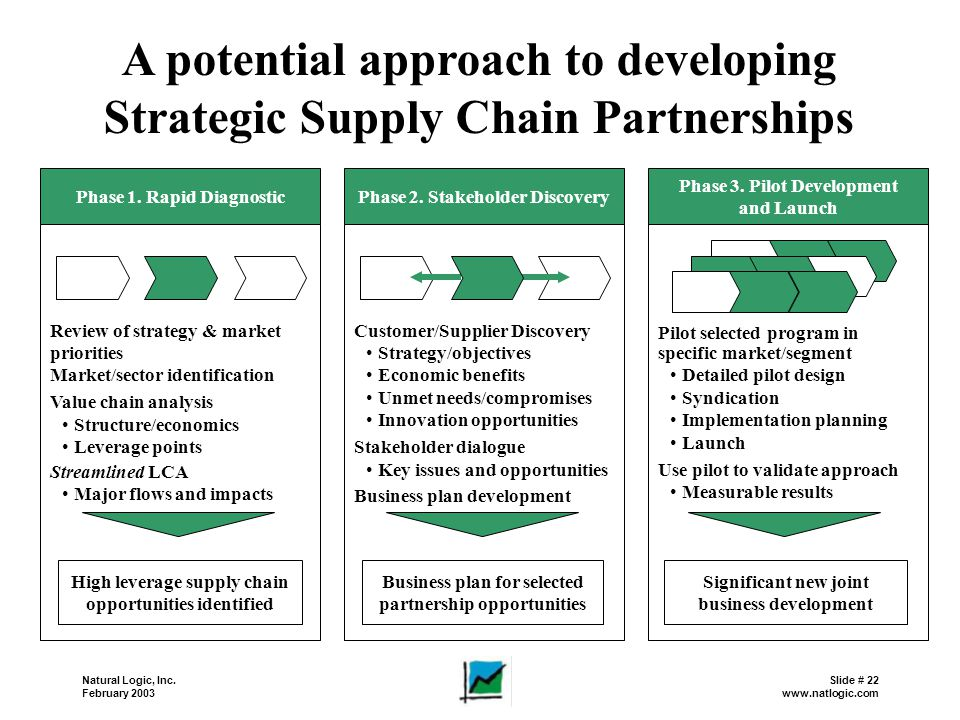 Supply Chain Strategy Development