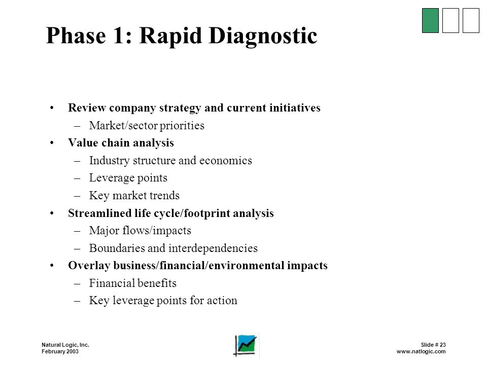 Phase 1: Rapid Diagnostic