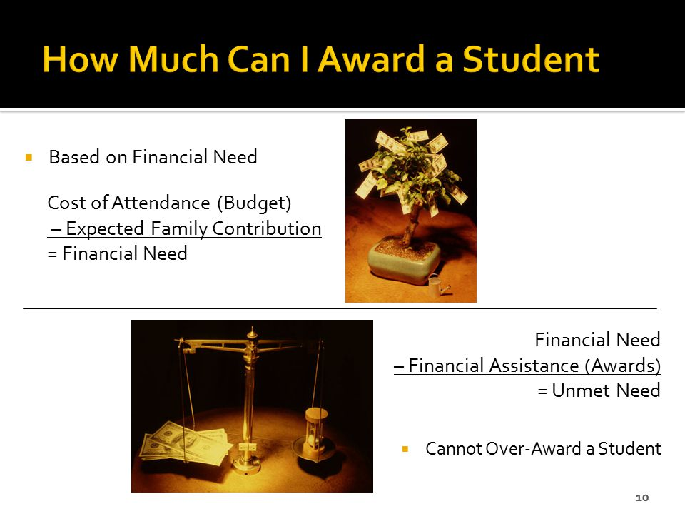 How Much Can I Award a Student