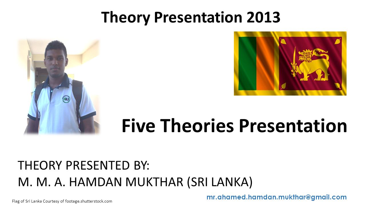 Five Theories Presentation