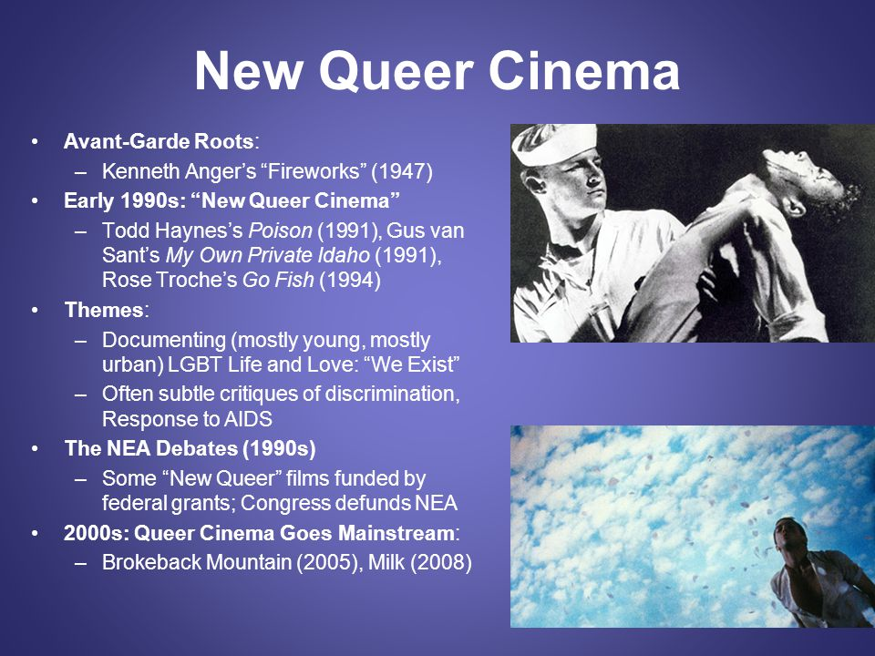 New Queer Cinema Avant-Garde Roots: Kenneth Anger's Fireworks (1947)