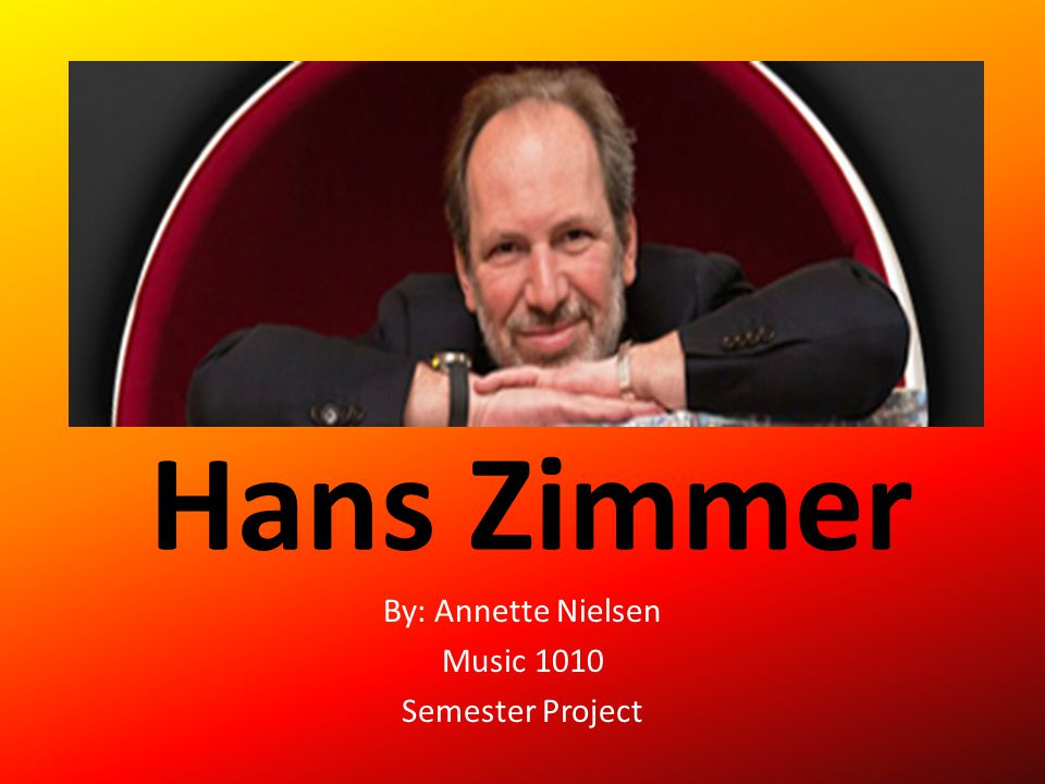 By: Annette Nielsen Music 1010 Semester Project