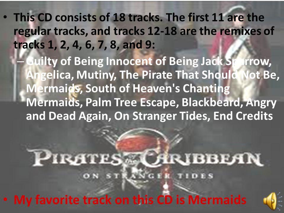 My favorite track on this CD is Mermaids