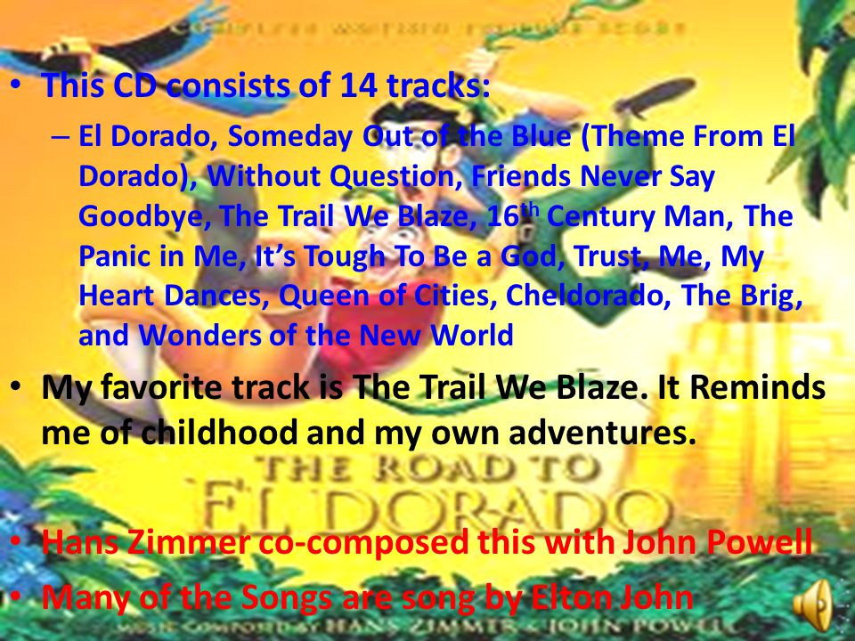 This CD consists of 14 tracks: