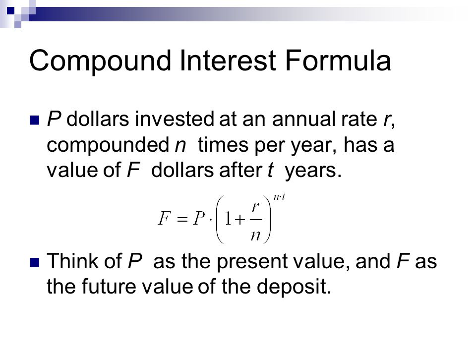 how to find the compounded bit rate