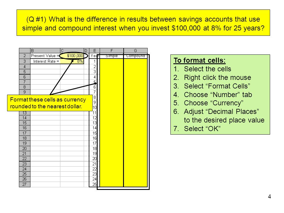 Adjust Decimal Places to the desired place value Select OK