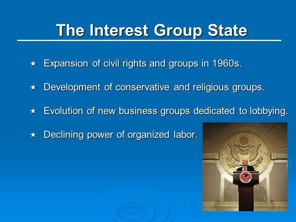 The Interest Group State