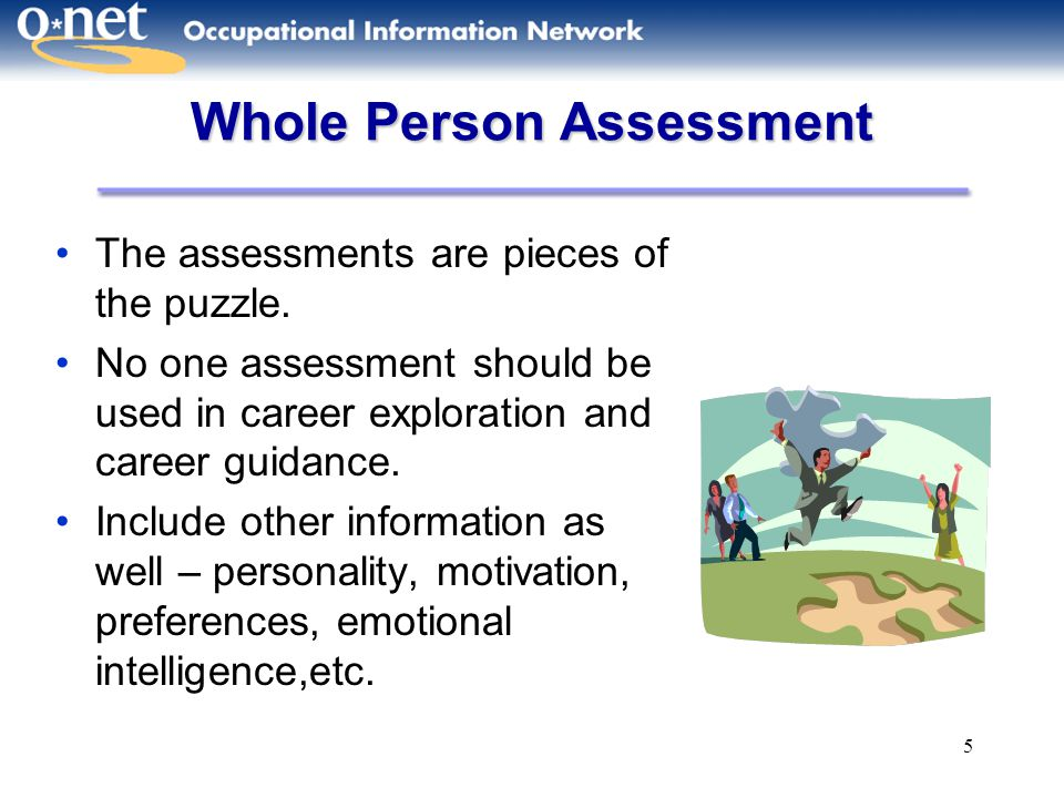 Whole Person Assessment