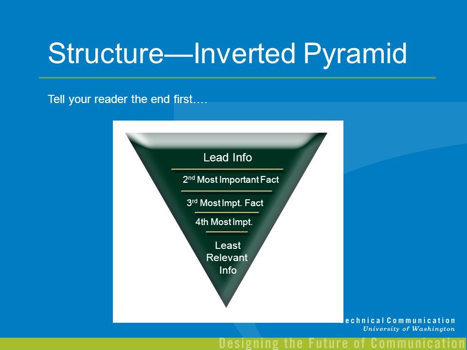Structure—Inverted Pyramid