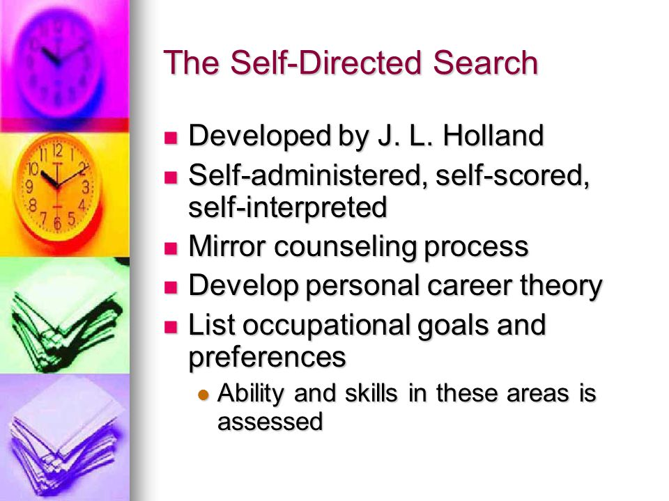 The Self-Directed Search