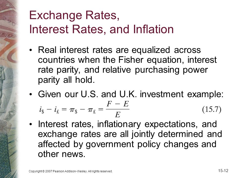 Exchange Rates, Interest Rates, and Inflation