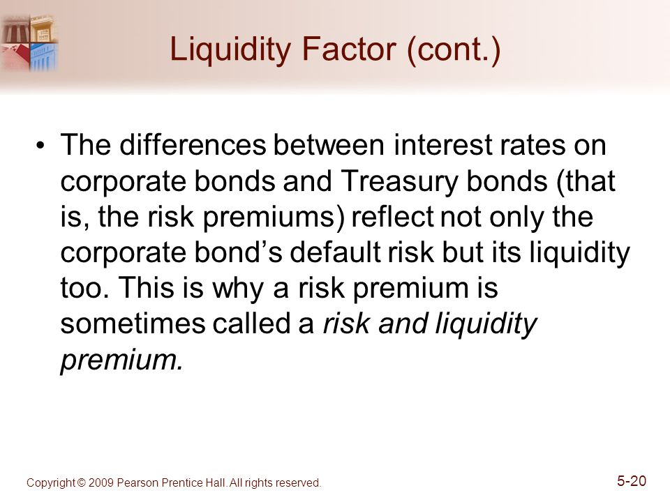 Liquidity Factor (cont.)