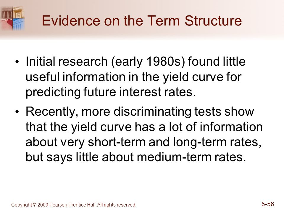 Evidence on the Term Structure