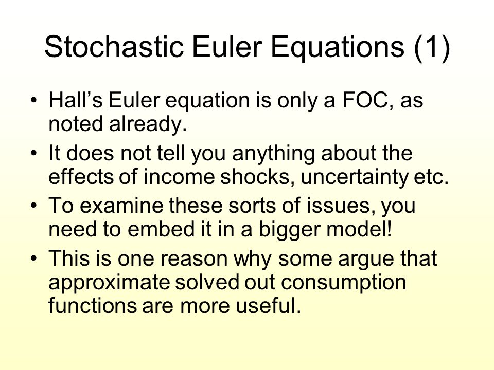 Stochastic Euler Equations (1)