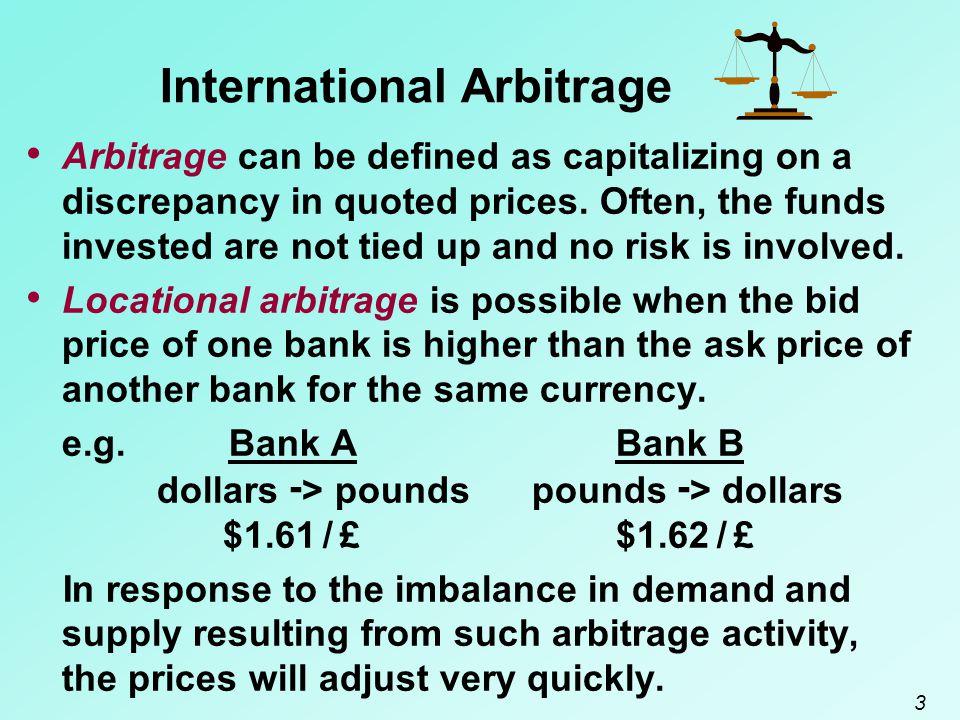 International Arbitrage