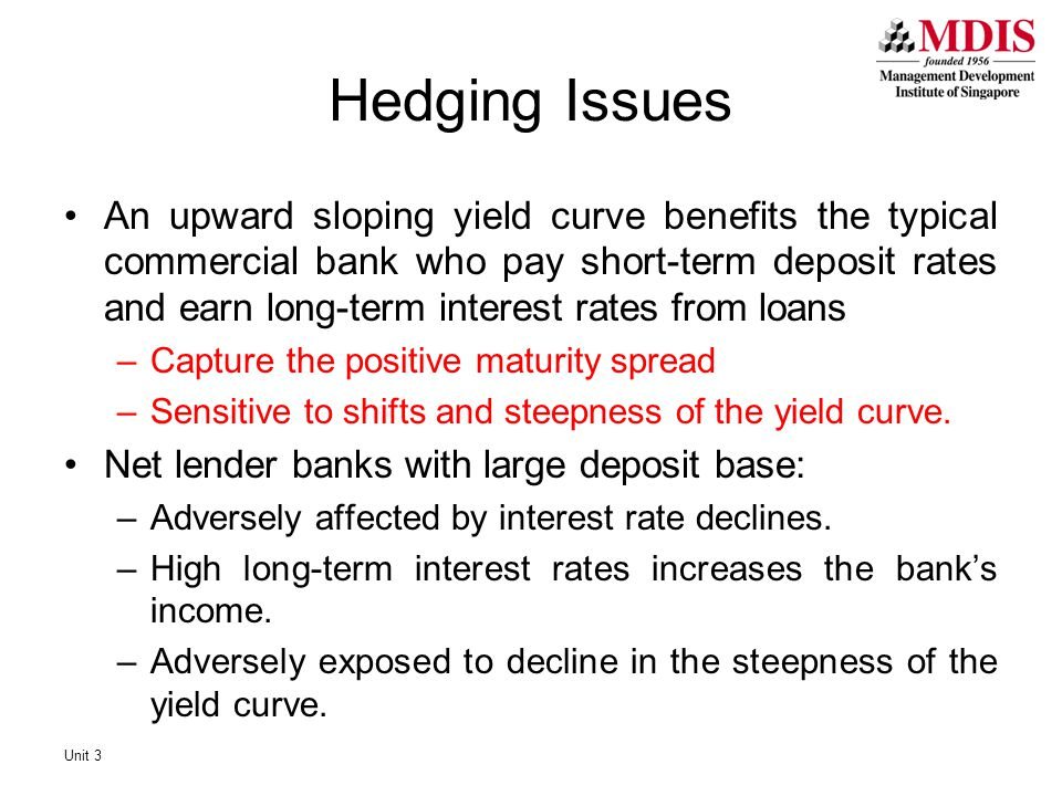 Hedging Issues