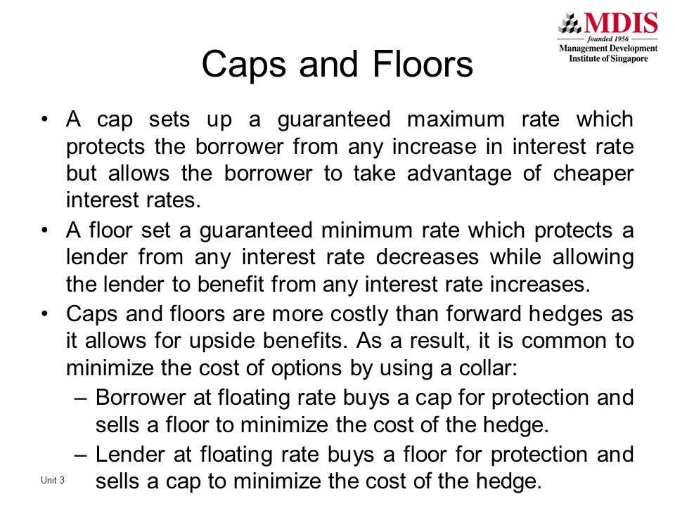 Caps and Floors