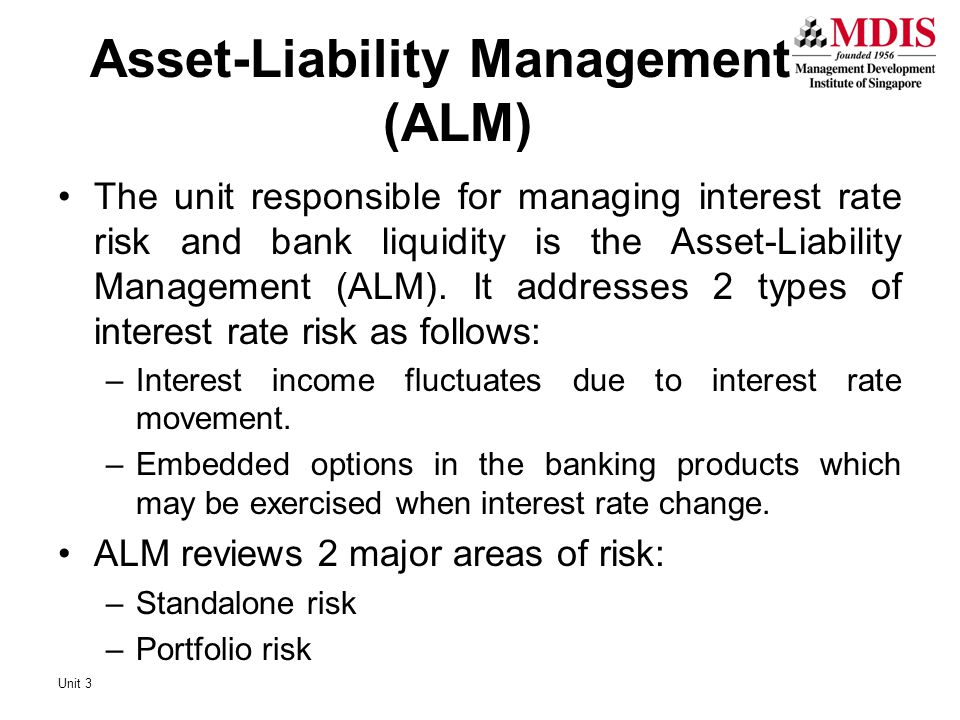 Asset-Liability Management (ALM)