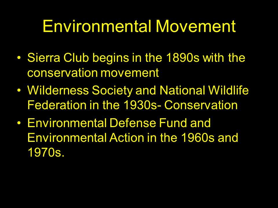 Environmental Movement