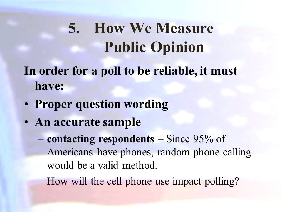 How We Measure Public Opinion