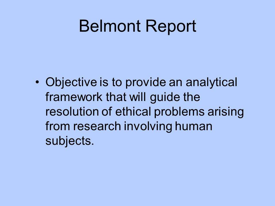 Belmont Report
