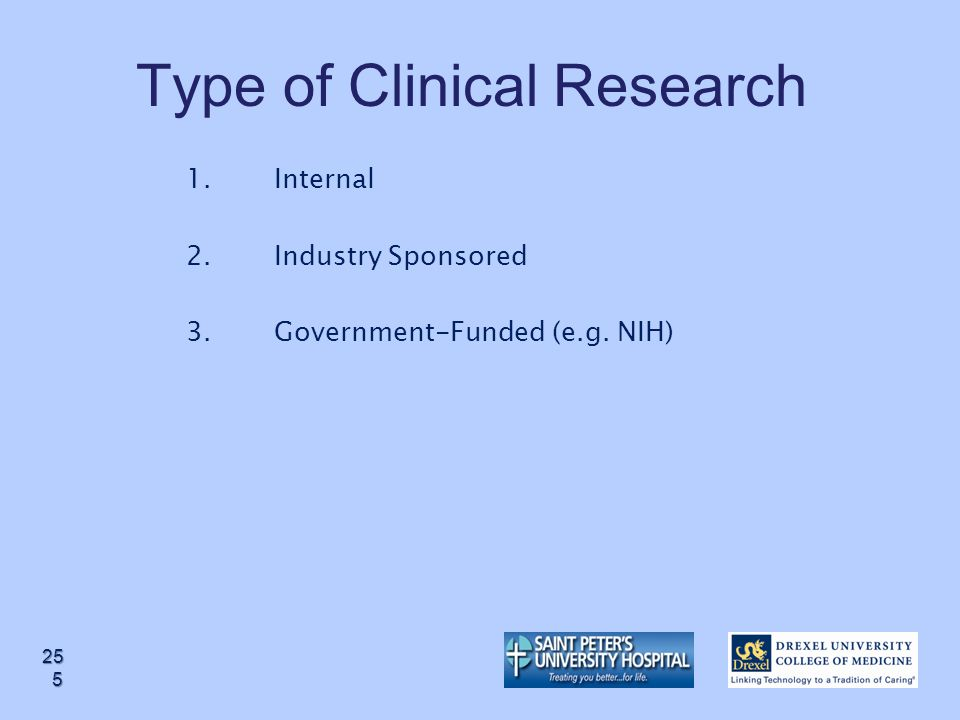 Type of Clinical Research
