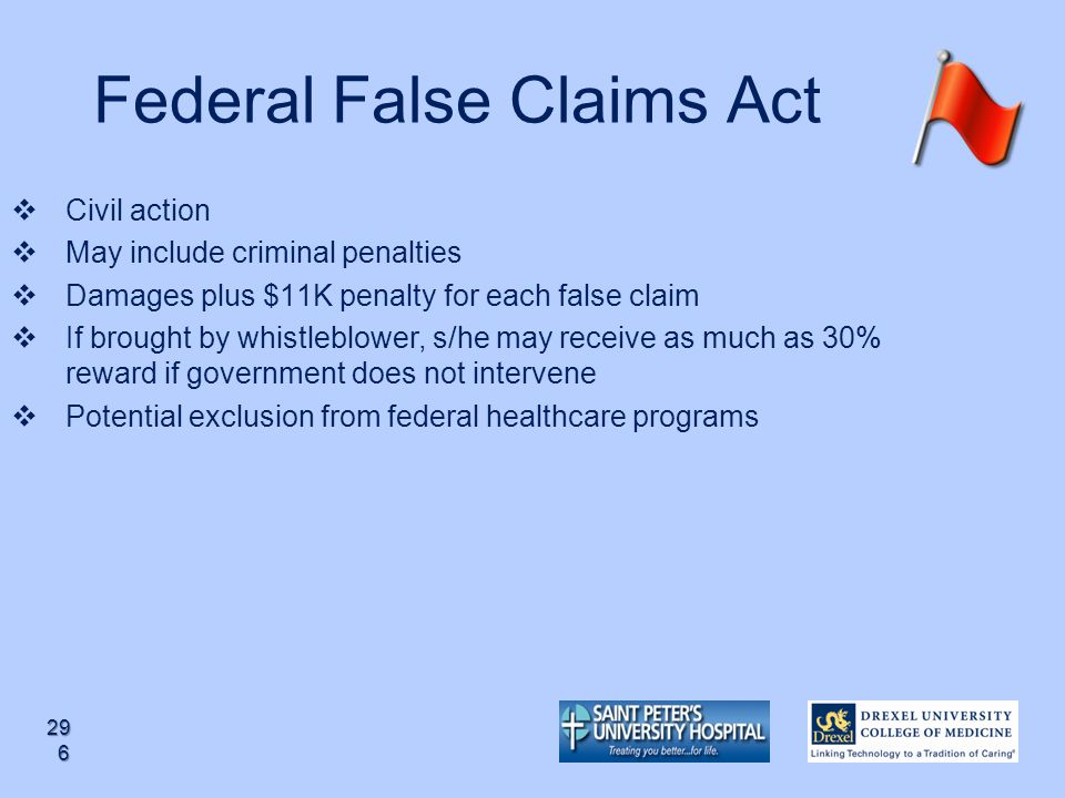 Federal False Claims Act