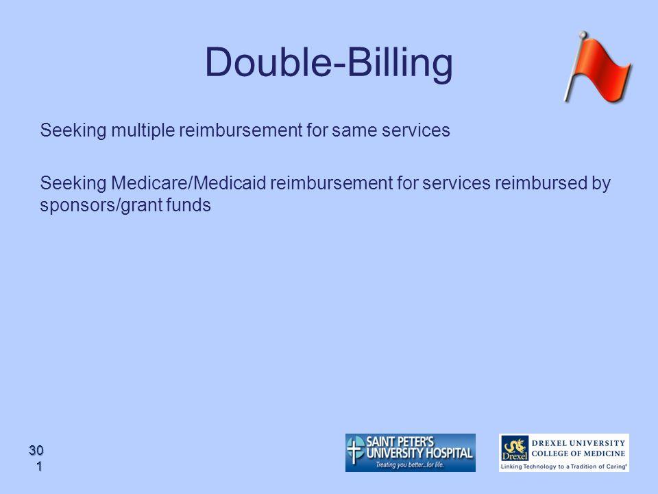 Double-Billing