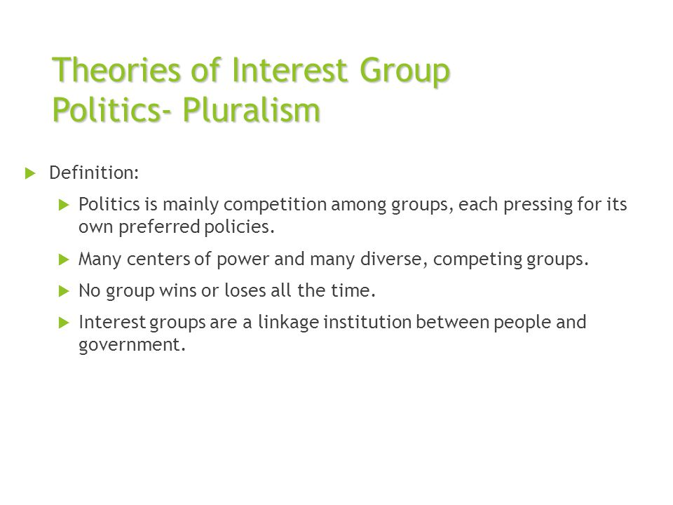Special Interest Group Definition