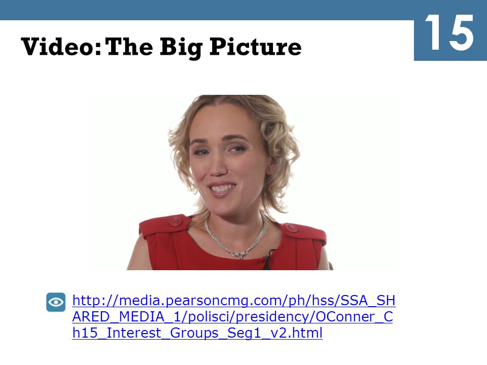 15 Video: The Big Picture.