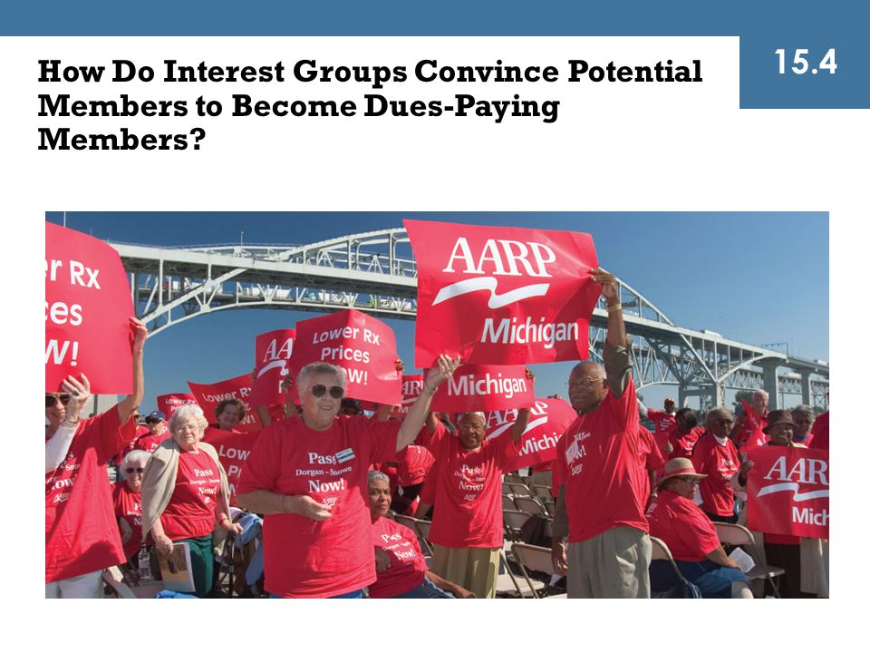 15.4 How Do Interest Groups Convince Potential Members to Become Dues-Paying Members