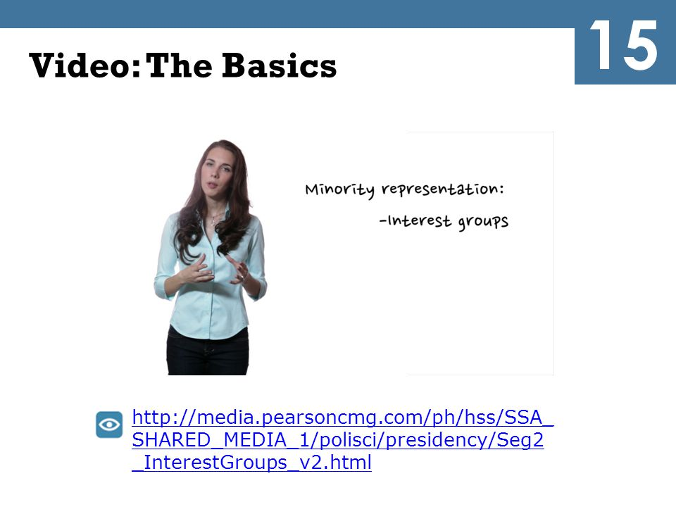 15 Video: The Basics.
