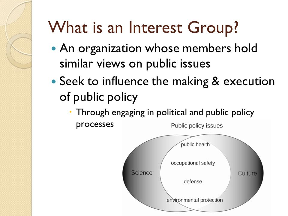 interest groups and policy making Interest groups and health care reform across the united states will inform and stimulate a new generation of research on the politics of state health reform and the role of interest groups a must read for students of health reform, state policy innovation, and american politics.