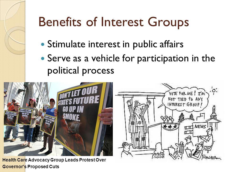 Benefits of Interest Groups