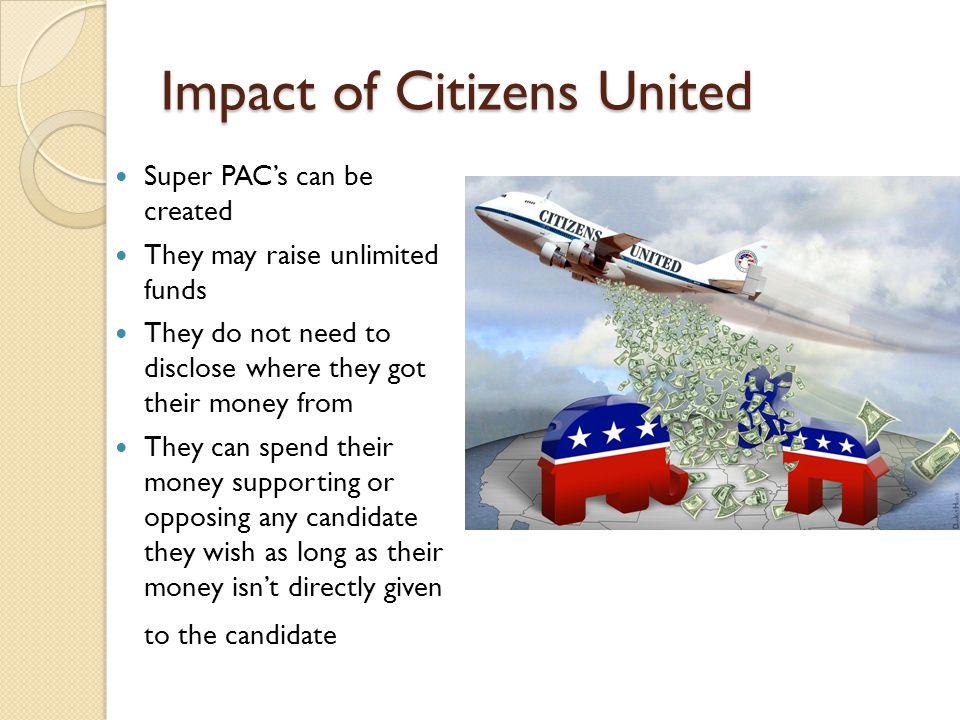 Impact of Citizens United