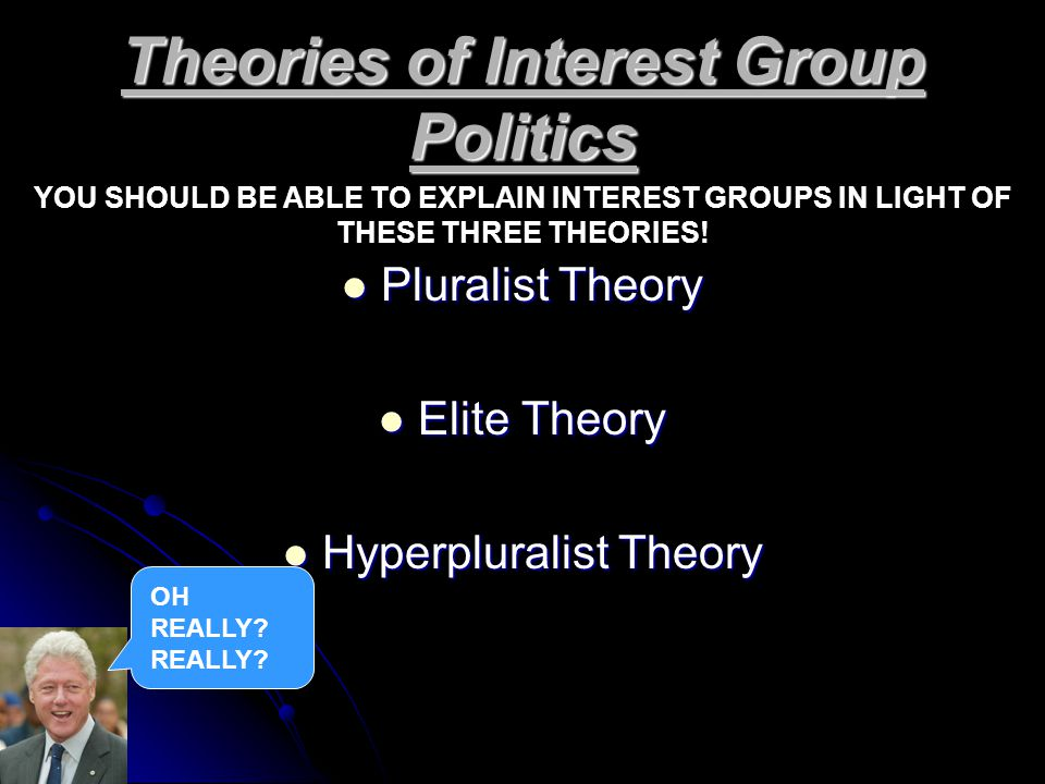 Theories of Interest Group Politics