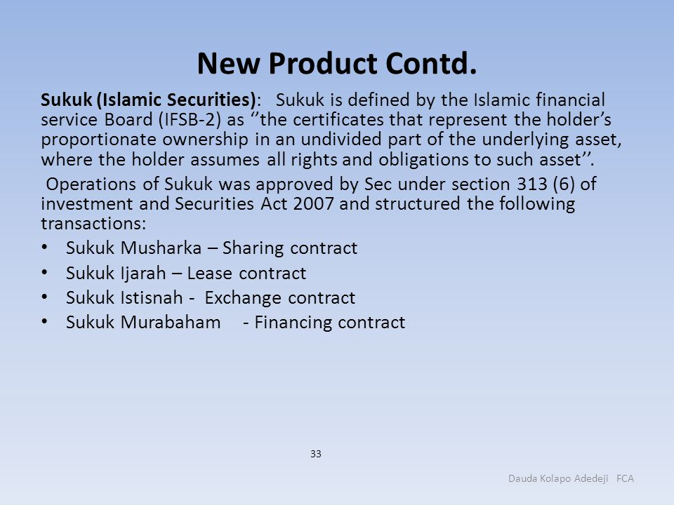 New Product Contd.