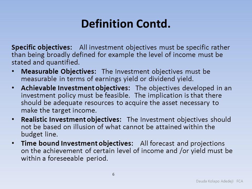 Definition Contd.