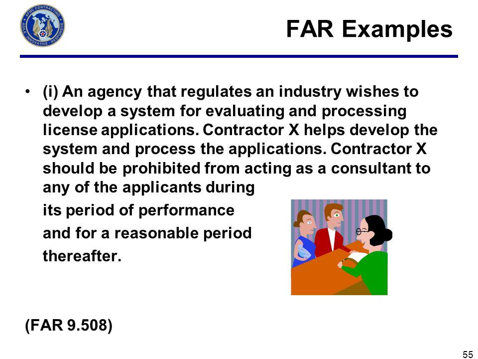 FAR Examples