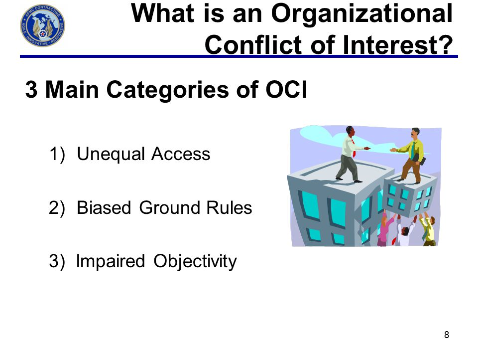 What is an Organizational Conflict of Interest