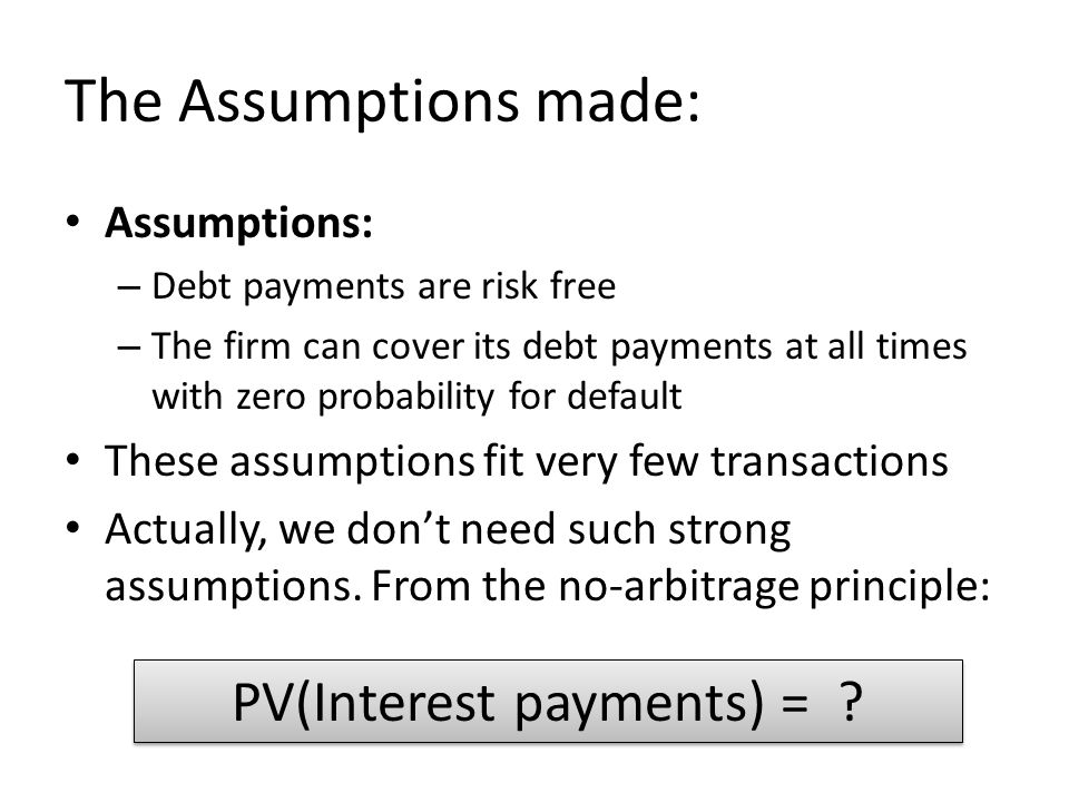 PV(Interest payments) =