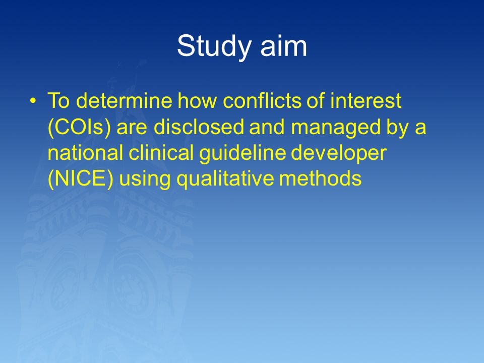 Study aim