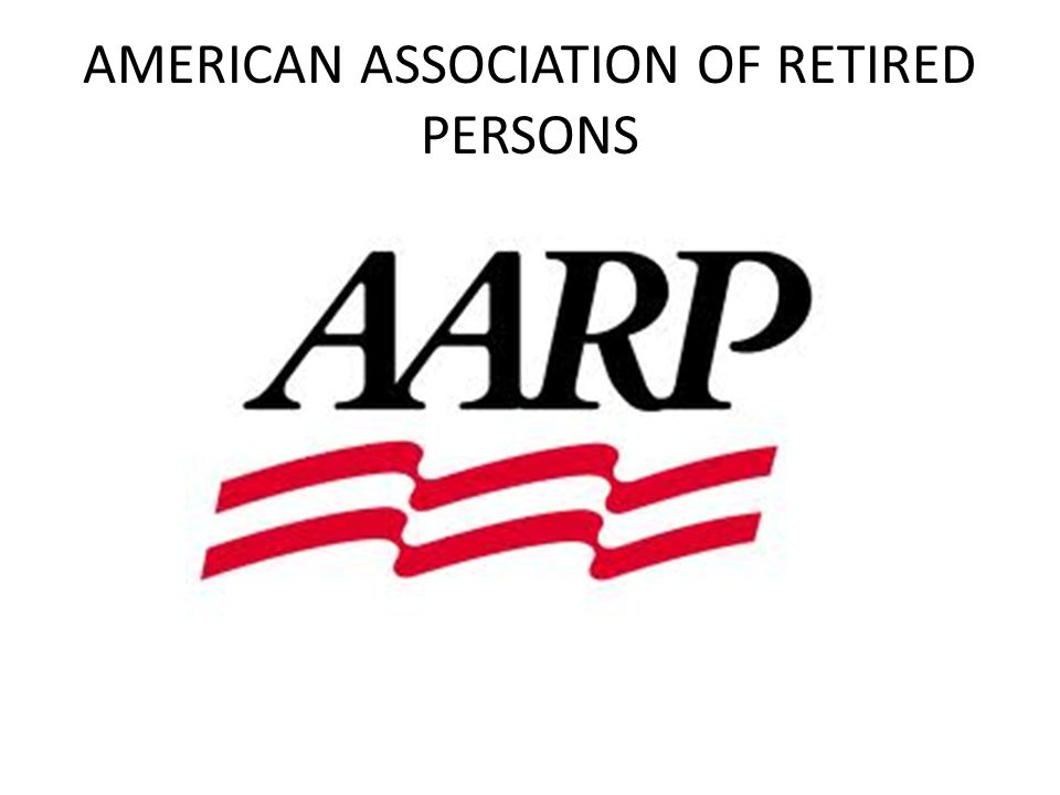 AMERICAN ASSOCIATION OF RETIRED PERSONS