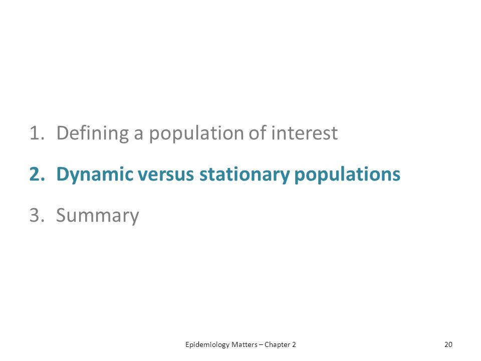 Epidemiology Matters – Chapter 2