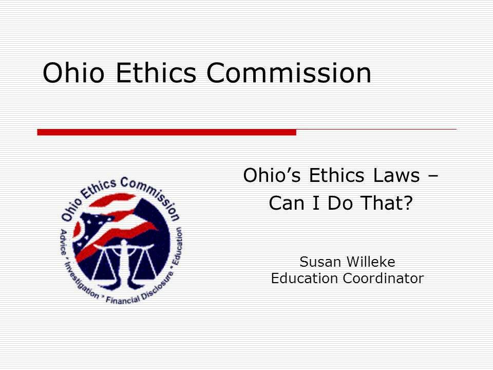 Ohio Ethics Commission