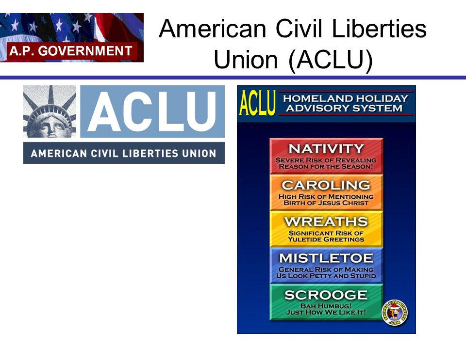 American Civil Liberties Union (ACLU)