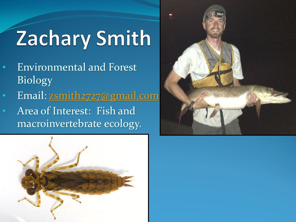 Zachary Smith Environmental and Forest Biology